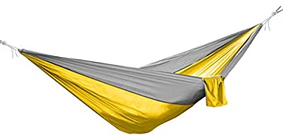 BalanceFrom Lightweight Portable Nylon Parachute Hammock with Two Hammock Tree Straps and Carrying Case