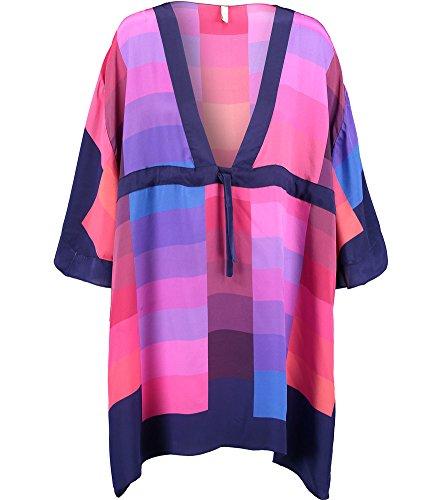 gottex-colourblock-silk-beach-kaftan-14ch-611r-x-large-maroon-multi