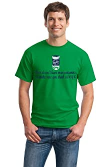 buy Gildan Beer Doesn'T Have Many Vitamins, Make Sure To Drink A Lot Adult Unisex T-Shirt / Funny Drinki