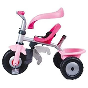 Smoby Porteur et Tricycle - Be Fun Confort Fille