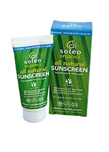 Soleo Organics Sunscreen, 2.8-Ounce Box
