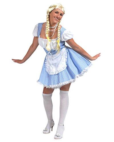 Pierro´s Kostüm Dirndl Magda Damenkostüm Frauenkostüm Dirndlkleid Größe 40/42 für Karneval, Fasching, Party
