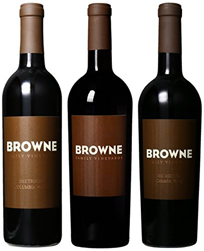 Browne Family Vineyards Heritage Reds Mixed Pack, 3 X 750 Ml