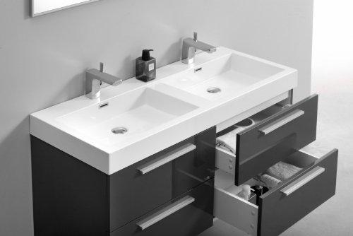 Vasque poser la grande classe pour pas cher avis for Meuble double vasque 120 cm pas cher