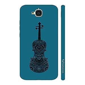Enthopia Designer Hardshell Case Violin Rocks Back Cover for Huawei Honor Holly 2 Plus