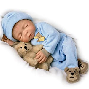 Amazon.com: Sweet Dreams, Baby Jacob: So Truly Real 18-Inch Realistic