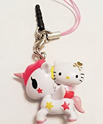 Tokidoki x Hello Kitty Frenzies Phone Charm Phonezie - Stellina Unicorno Unicorn