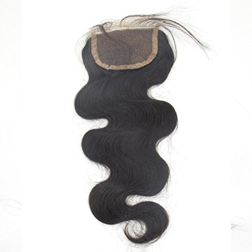 LaNova-Beauty-Girls-Malaysian-Hair-Body-WaveSize10-26inchLace-Closure-Body-WaveNatural-Color1pclot40gpc