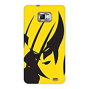 Wolf Zone Back Case Cover for Galaxy S2