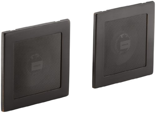 Kohler K-8033-2Bz Soundtile Pair Of Speakers, Oil-Rubbed Bronze