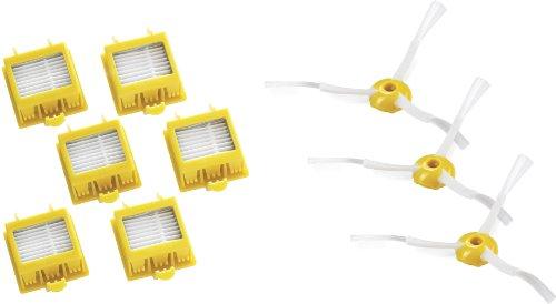 iRobot 13876 – Juego de seis filtros HEPA y de tres cepillos para esquinas para la serie 700 image