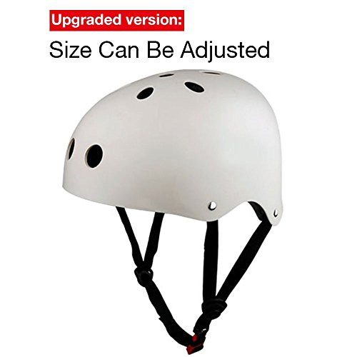 KuYou-Skateboarding-HelmetUltimate-Adjustable-ABS-Shell-for-Cycling-SkateboardScooter-Skate-Inline-Skating-Rollerblading-Protective-Gear-4-Size-XS-S-M-L-Suitable-KidYouthAdult