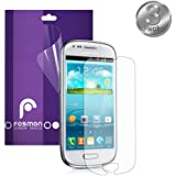 Fosmon Anti-Glare (Matte) Screen Protector Shield for Samsung Galaxy S3 III mini / GT-I8190 - 3 Packs