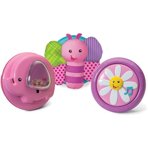Infantino Pop & Play 3-Piece Activity Pods, Girl