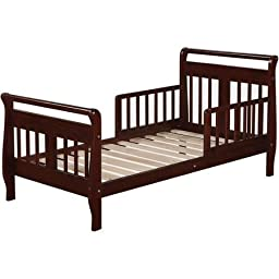 Baby Relax Sleigh Toddler Bed , Espresso Finish