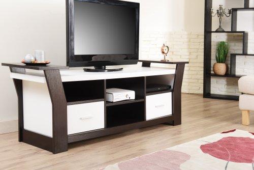 Furniture of america torena multi storage tv stand black for Furniture of america torena