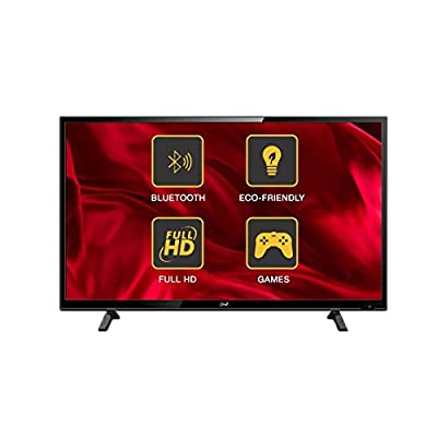 Noble Skiodo 42CV40CN01 101cm (40 inches) Full HD LED TV (Black)