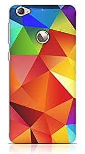 Multicolor Abstract Pattern Case For Letv 1s