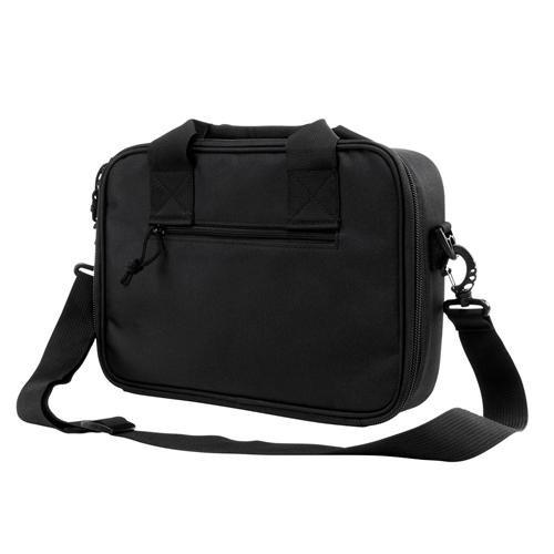 VISM by NcStar Double Pistol Range Bag, Black, 9