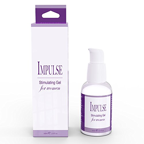 Impulse Intimate Stimulating Lubricant by Healthy Vibes (2 Oz) Natural Sexual Enhancing Pleasure Gel for Women - Increase Libido and Arousal Levels - Warms, Cools, and Tingles - Water Based - USA Made