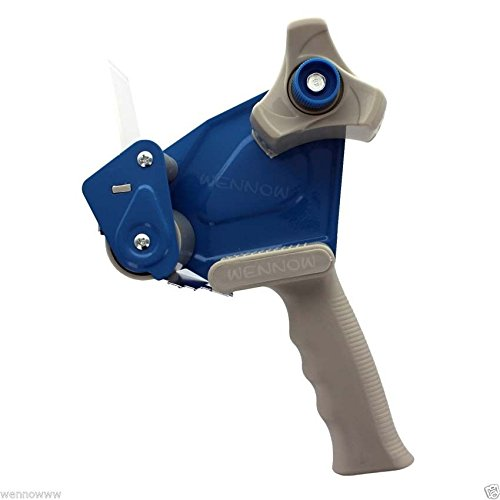 NEW Wennow Handheld Blue 2 Inch Tape Gun Dispenser Packing Packaging Cutter (Astronaut Ice Cream Bulk compare prices)