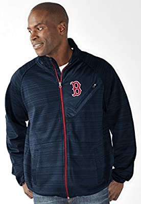 "Boston Red Sox MLB G-III ""Full Count"" Men's Full Zip Track Jacket"