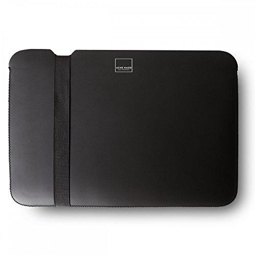 Acme Made AM36924 - Skinny Sleeve (Case Cover Shuttle) for MacBook 12 (Matte Black) (Acme Made Mac Book Pro 13 compare prices)