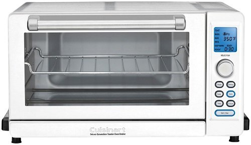 Cuisinart TOB-135W Deluxe Convection Toaster Oven Broiler, White (Broiler Convection Oven compare prices)