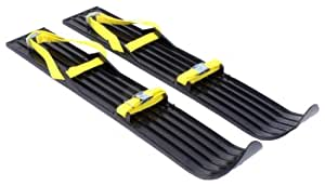 Hamax Mini Skis - Black black Size:65x10x3,0
