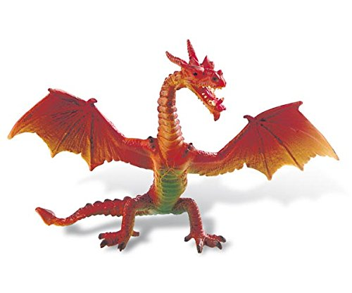 Bullyland Red Dragon Standing Figure