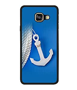 printtech Ship Anchor small Back Case Cover for Samsung Galaxy A7 (2016) :: Samsung Galaxy A7 (2016) Duos with dual-SIM card slots