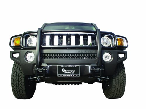 Aries 4078 The Aries Bar Black Grille Brush Guard - 1 Piece