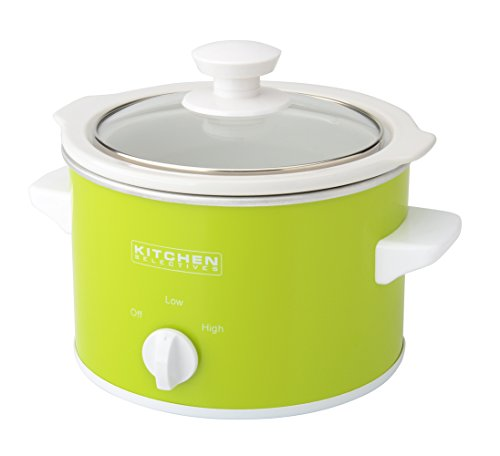 Kitchen Selectives Lime Green Slow Cooker, 1.5-Quart, Green
