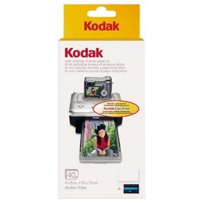 Kodak PH-40 EasyShare Printer Dock Color Cartridge And Photo Paper Refill Kit at Sears.com