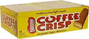 Canada Coffee Crisp Chocolate Bar 48 Count Box