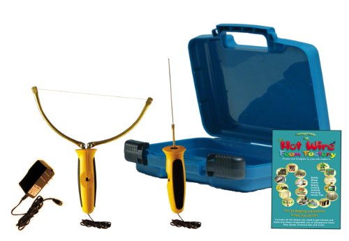 Hot Wire Foam Factory K16 Crafters Deluxe 2-in-1 Hot Knife & Sculpting Tool Kit