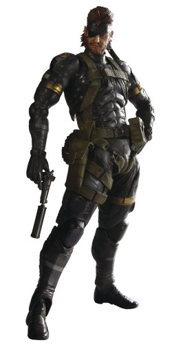 Metal Gear Solid Peace Walker Snake Sneaking Suit Ver Play Arts KAI Vol.3 Action Figure