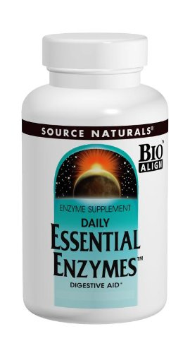 Source Naturals Essential Enzymes 500mg, Full spectrum digestion