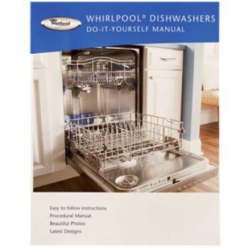 Cheap whirlpool do-it-yourself dishwasher manual book.