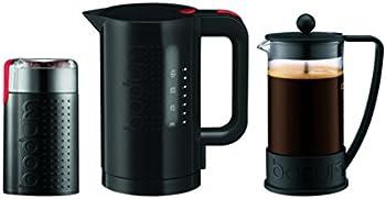 Bodum K10938-01US Coffee Maker, Grinder & Kettle Brazil Set