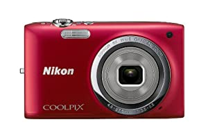 Nikon COOLPIX S2700 16 MP Digital Camera with 6x Optical Zoom and 720p HD Video (Red)