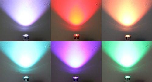E27 5W Rgb Light Lamp Bulb With Ir Remote Control-E27, 5W - (Premium Quality)