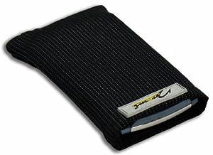 Norrun Handytasche / Handyhülle # Modell Abbo # ersetzt die Handy-Tasche von Hersteller / Modell HTC Shift X9500 # maßgeschneidert # mit einseitig eingenähtem Strahlenschutz gegen Elektro-Smog # Mikrofasereinlage # Made in Germany