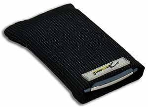 Norrun Handytasche / Handyhülle # Modell Abbo # ersetzt die Handy-Tasche von Hersteller / Modell Samsung Galaxy Trend Lite # maßgeschneidert # mit einseitig eingenähtem Strahlenschutz gegen Elektro-Smog # Mikrofasereinlage # Made in Germany