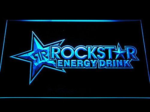 Rockstar Energy Drink Beer Bar LED Neon Sign Man Cave A228-B