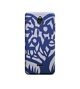 Ebby Premium Printed Back Case Cover With Full protection For Infocus M2 (Designer Case)