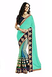 Pragati fashion Hub Parpal Faux Georgette Saree