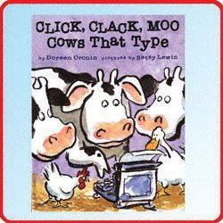 Simon and Schuster Click, Clack, Moo Cows That Type - 1