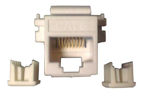 gc-45-6759-bu-white-cat6-modular-insert-10-pack-standard-datacom-wall-plate-inserts