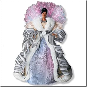 Avon Traditional Angel Tree Topper (African American)